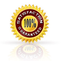 Order with confidense Your Satisfaction is 100% Guaranteed